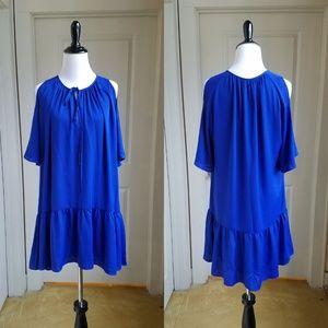 Amanda Uprichard Cold Shoulder Dress, M